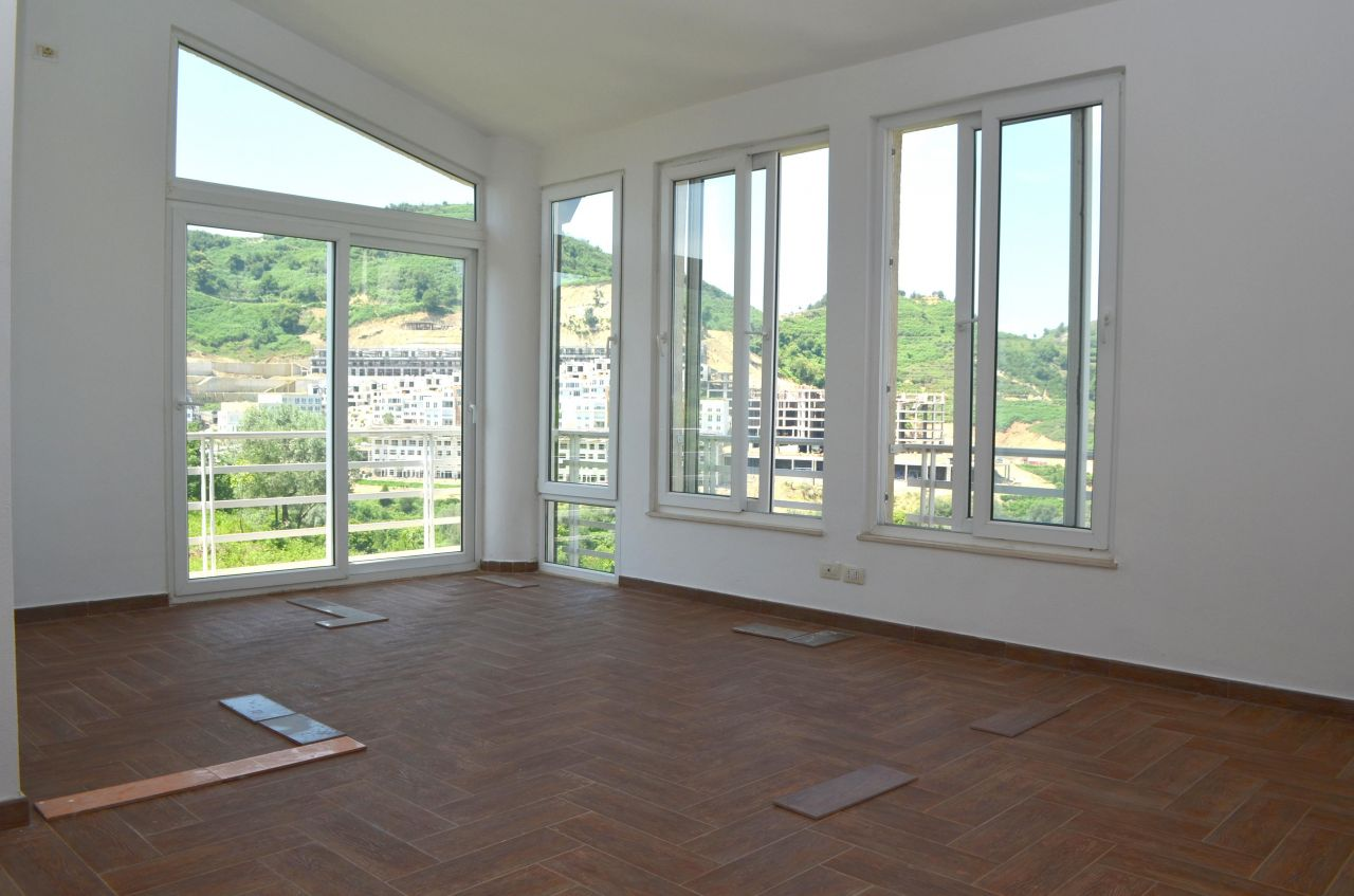 Two Bedroom Apartment in Tirana for Rent. Beautiful view.