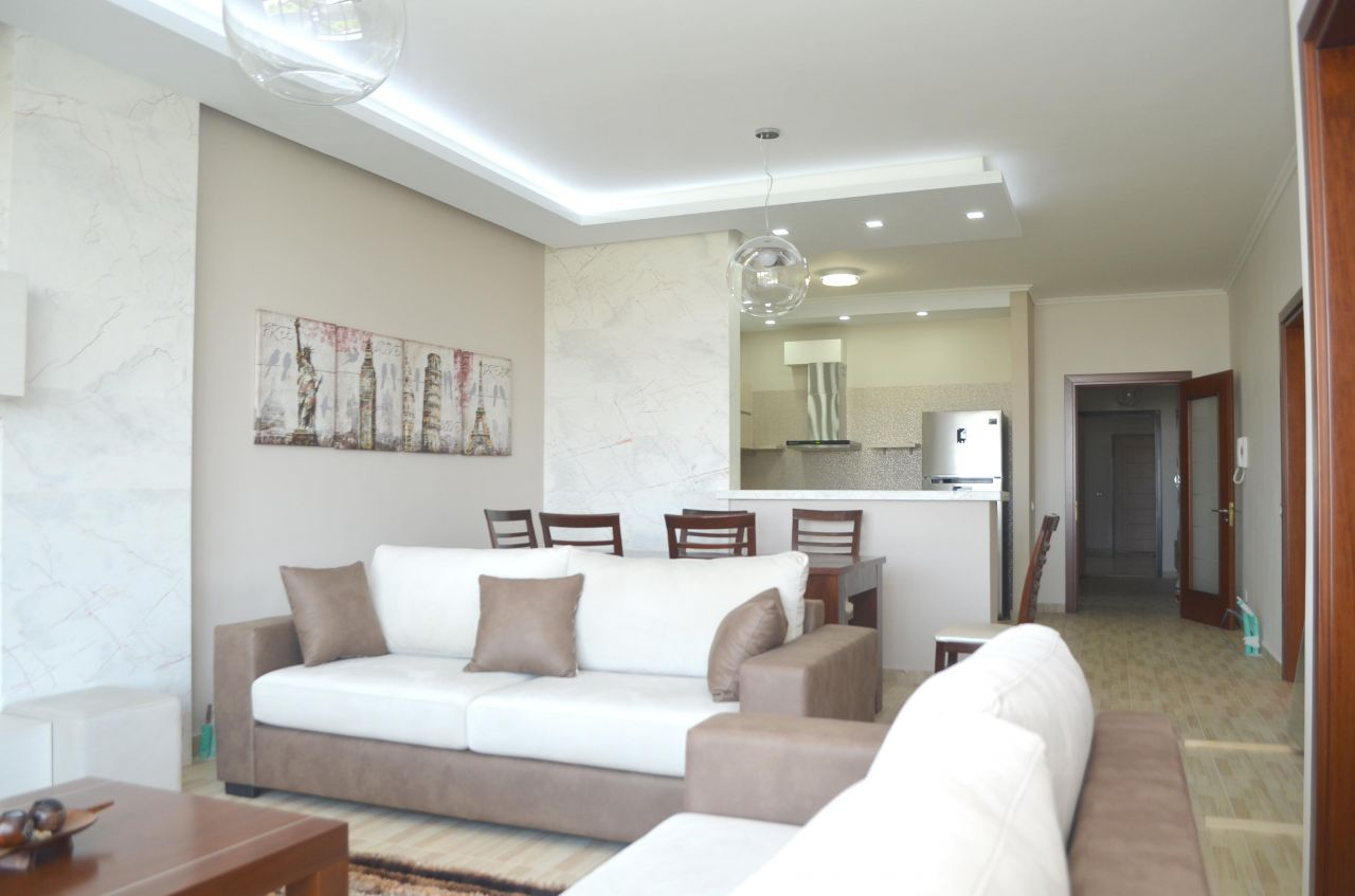 Apartment for rent in Tirana. Three bedroom apartment for rent in Albania.
