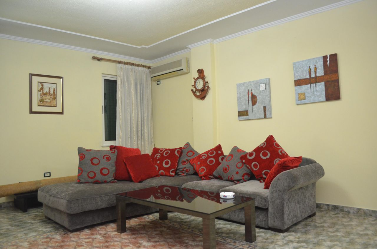 Two  bedrooms apartment in Tirana for rent. Apartment in a convenient area for rent in.