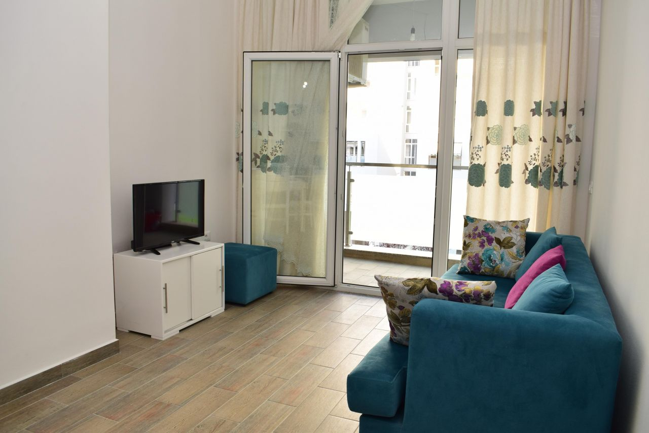 Apartment for rent in Tirana, fully furnished apartment near Blloku area