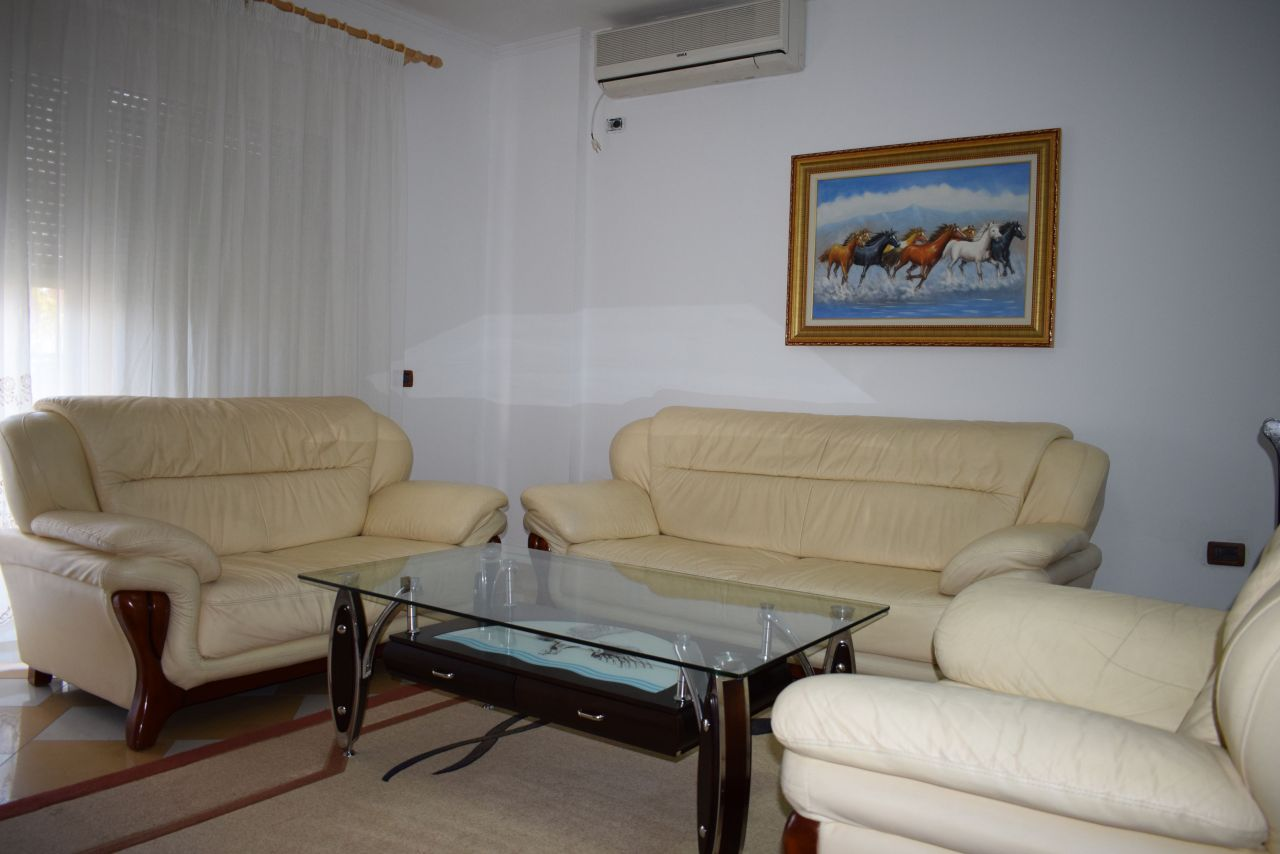 Two bedrooms apartment for rent near the center of Tirana
