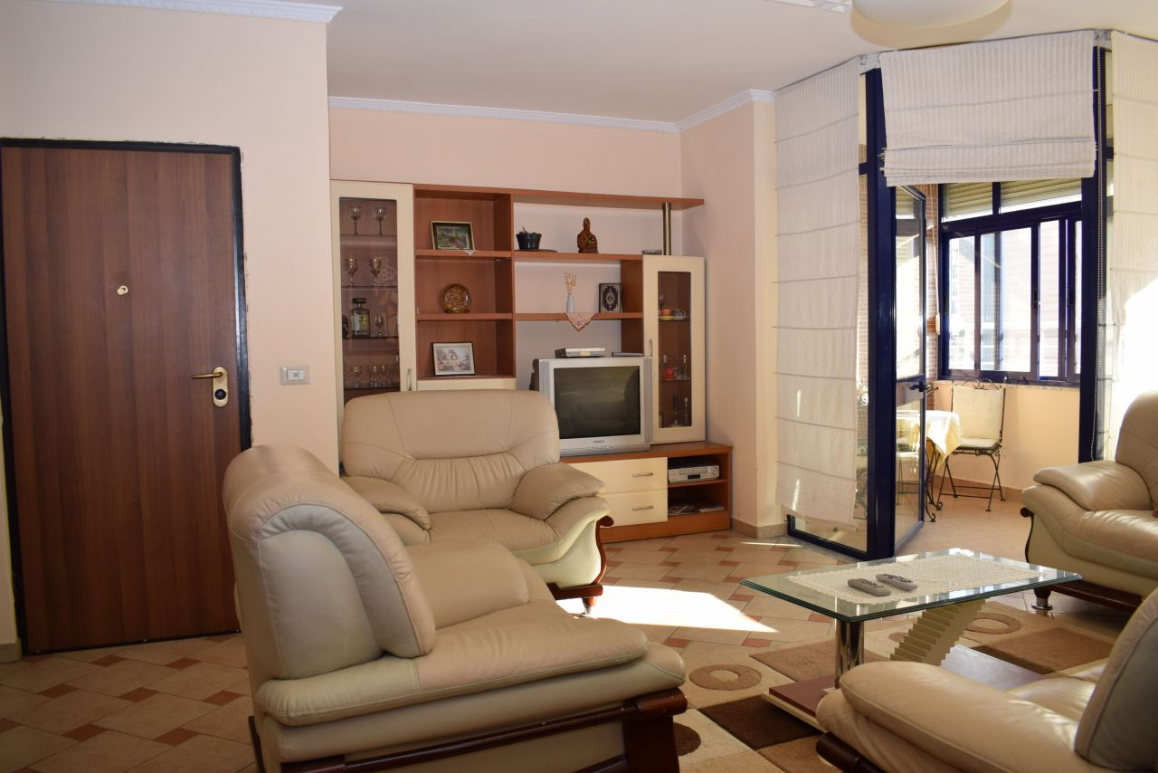 Spacious apartment for rent in Tirana