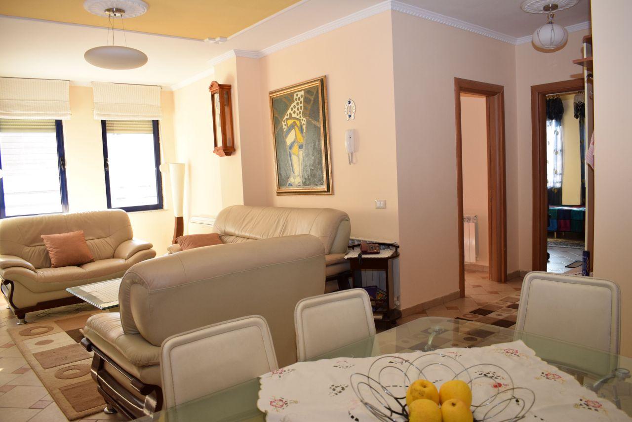 Spacious apartment for rent in Tirana