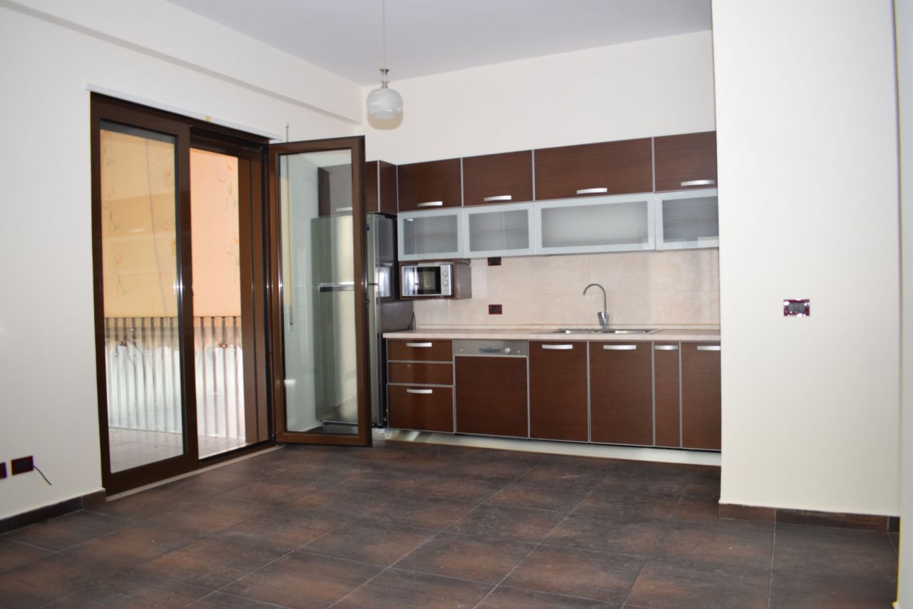 Office Apartment with three rooms for rent in Tirana, next to the Grand Park .