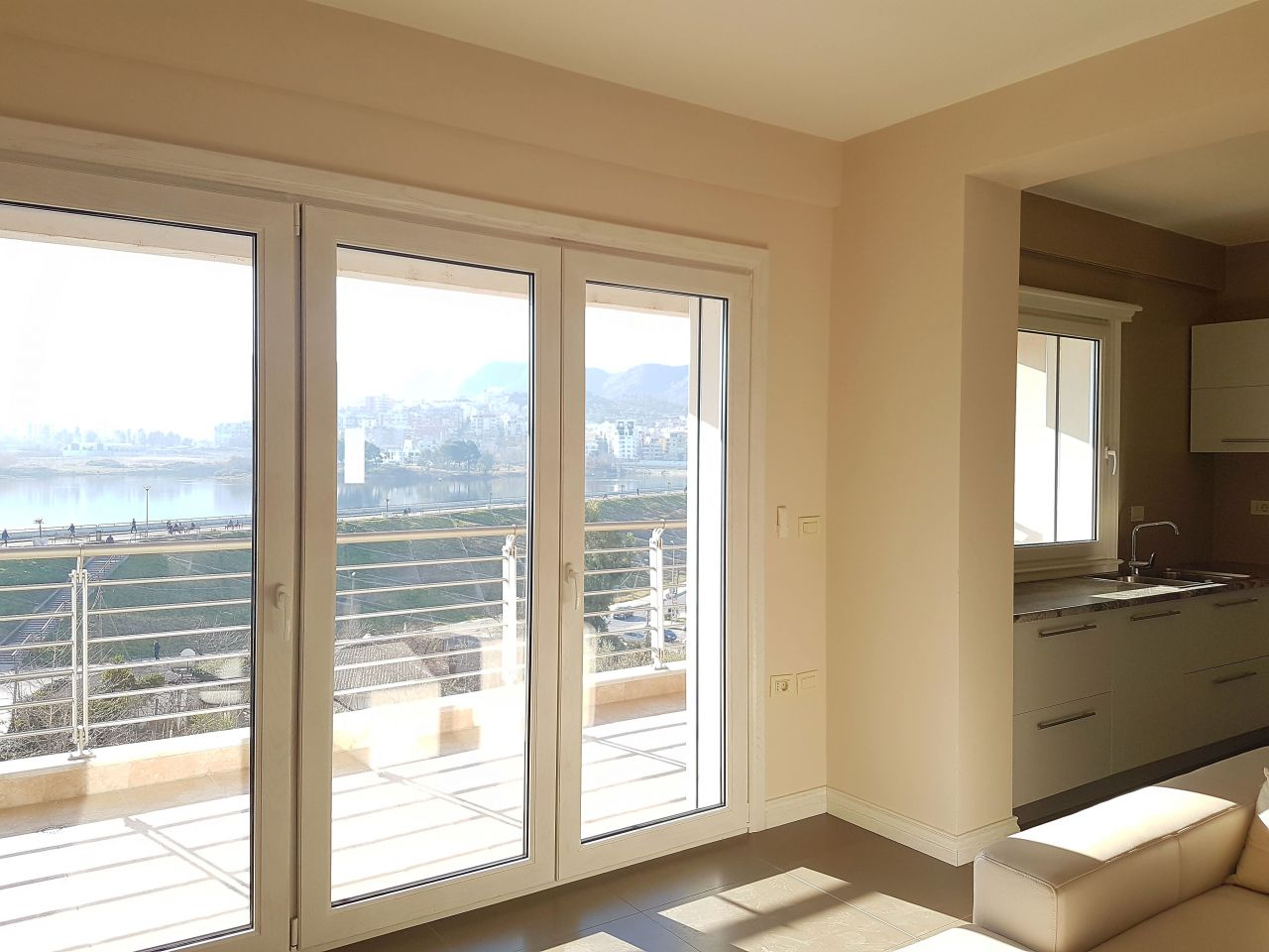 apartment for rent in tirana with 2 bedrooms in nobis center near the park of Tirana