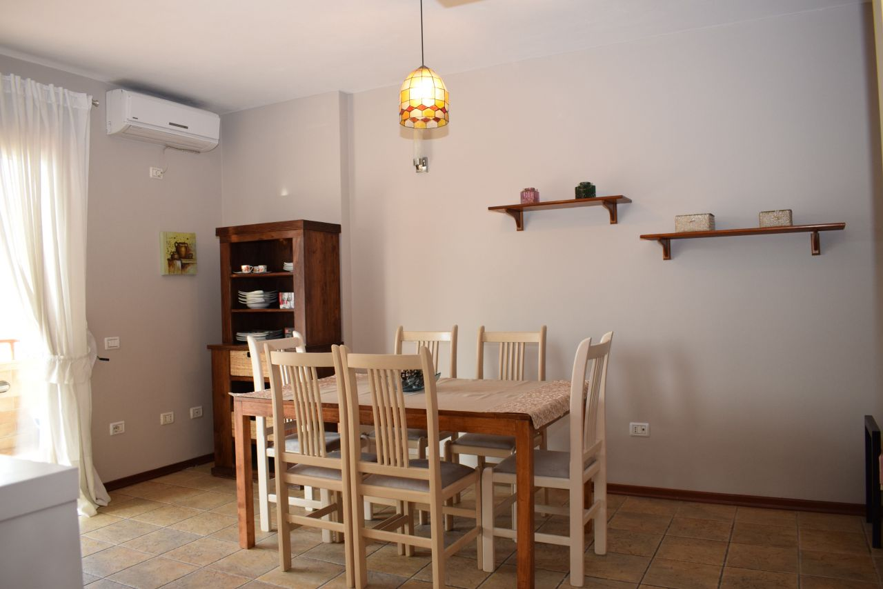 Duplex Apartment For Rent in Albania Tirana, with three bedrooms near the park of Tirana
