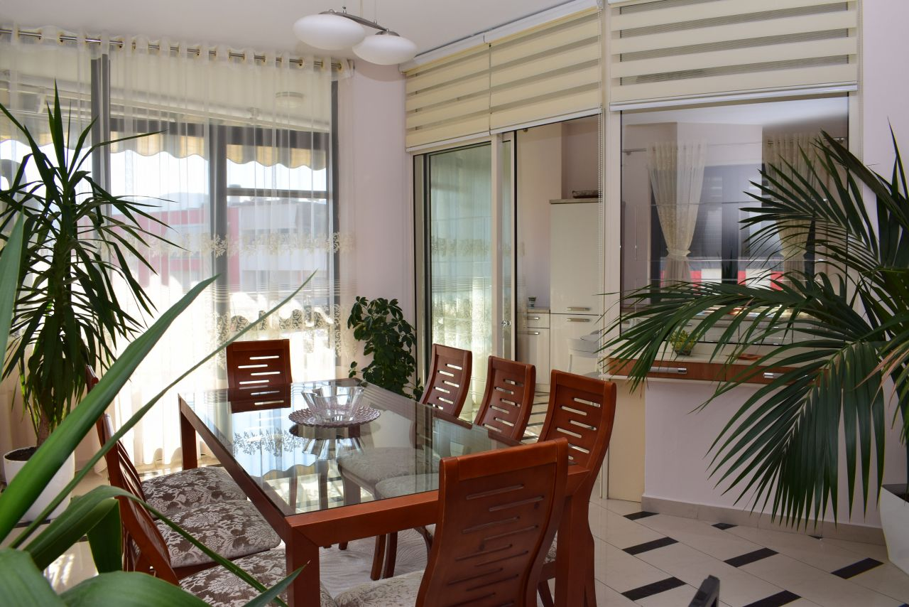 Thre Bedroom Apartment in Tirana for Rent Near the Park