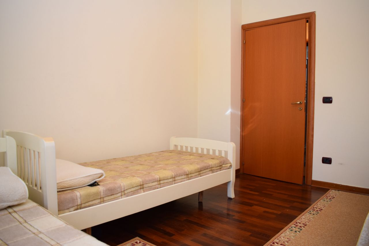 Apartment in Tirana for Rent near the Park in front of Nobis Center