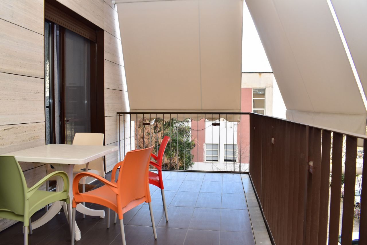 Modern Apartment in Tirana for Rent near Park of Tirana