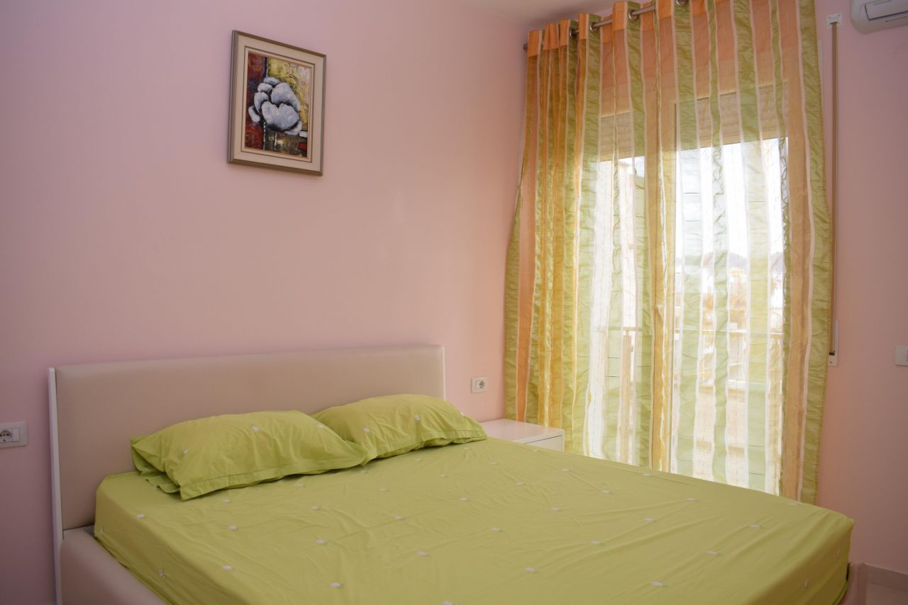 Apartament me nje  dhomë gjumi me qera në Tiranë, i ri me kushte shume te mira.