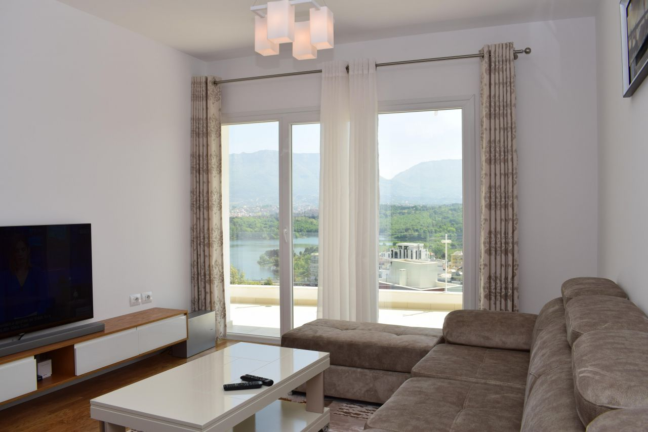 Beautiful Two Bedroom Apartment in Tirana for Rent