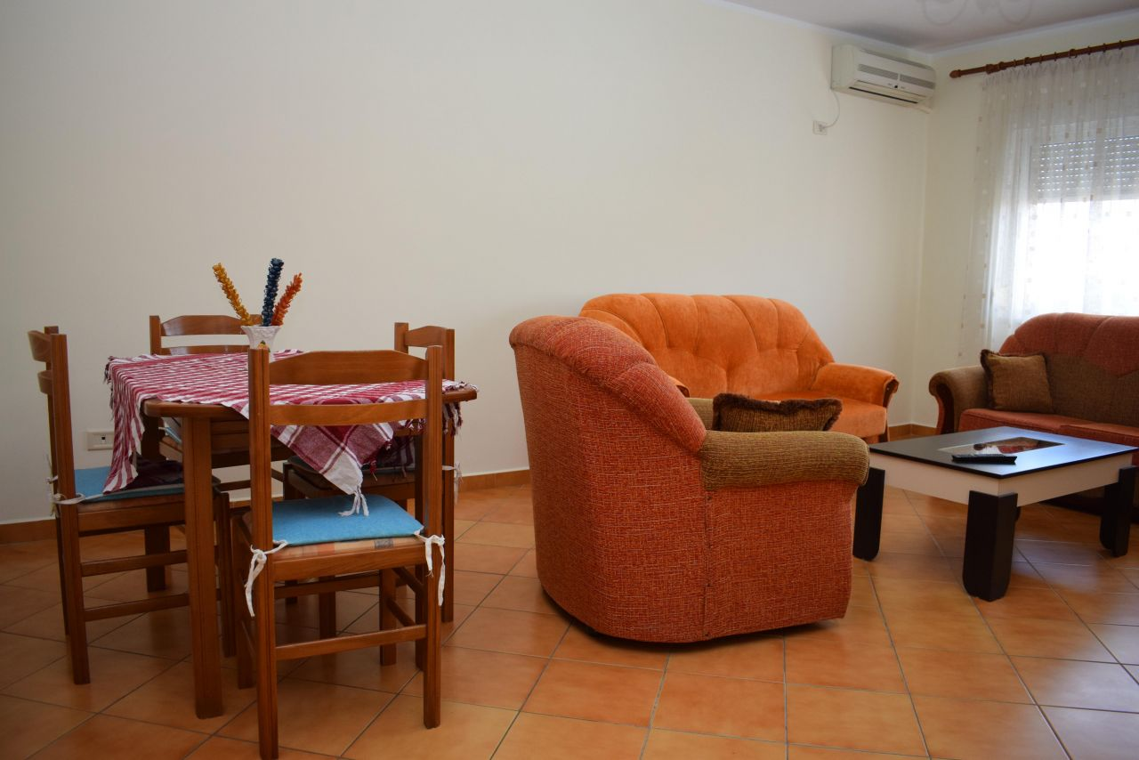 One bedroom apartment for Rent in Tirana, located in a very popular and good area.