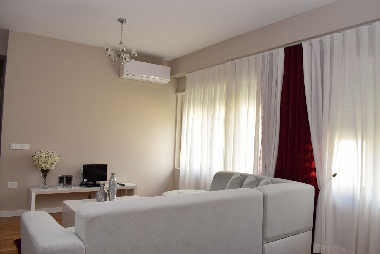 Two Bedroom Apartment in Tirana for Rent, in a Gated Residence