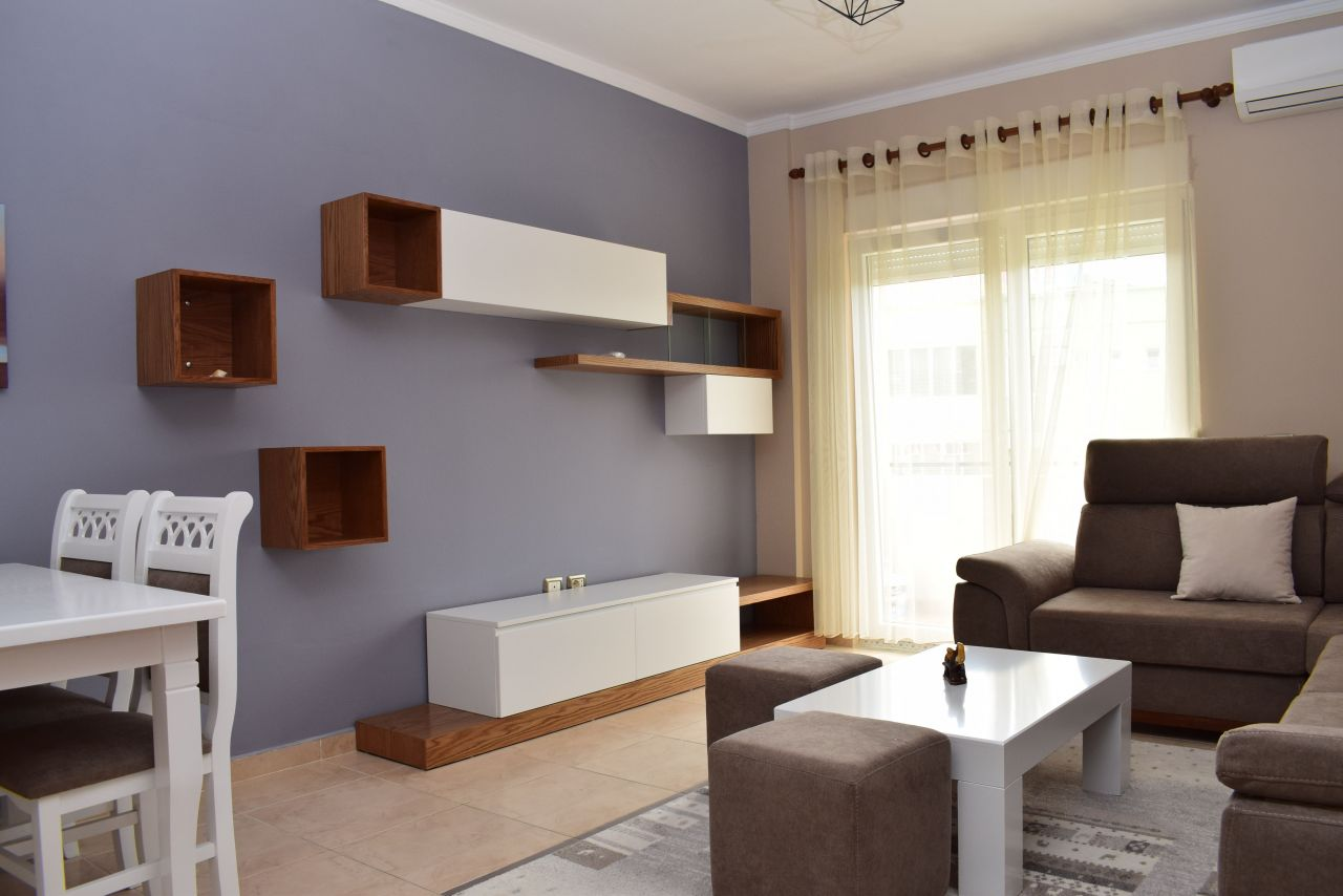 Rent Apartment in Tirana, in a quiet area