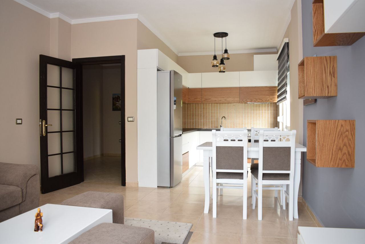 Two bedroom apartment for rent in Tirana, in a quiet area