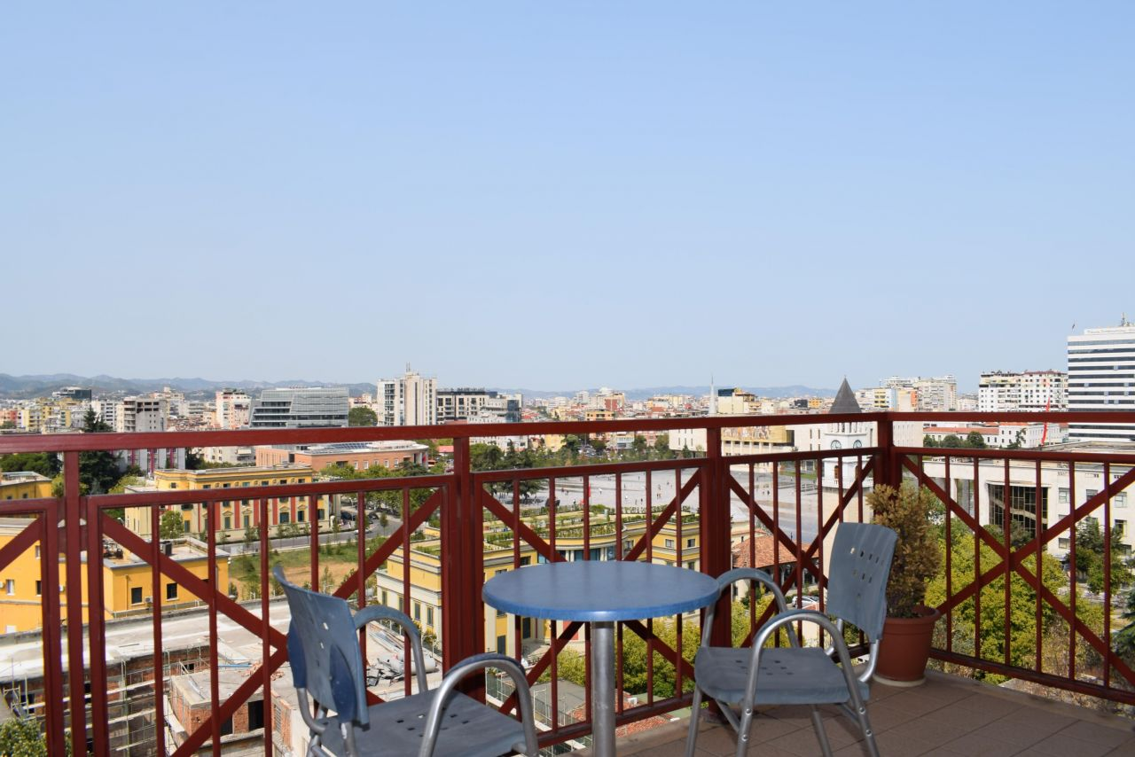 Two Bedroom Apartment in Tirana for Rent. Just next to Scanderbeg square