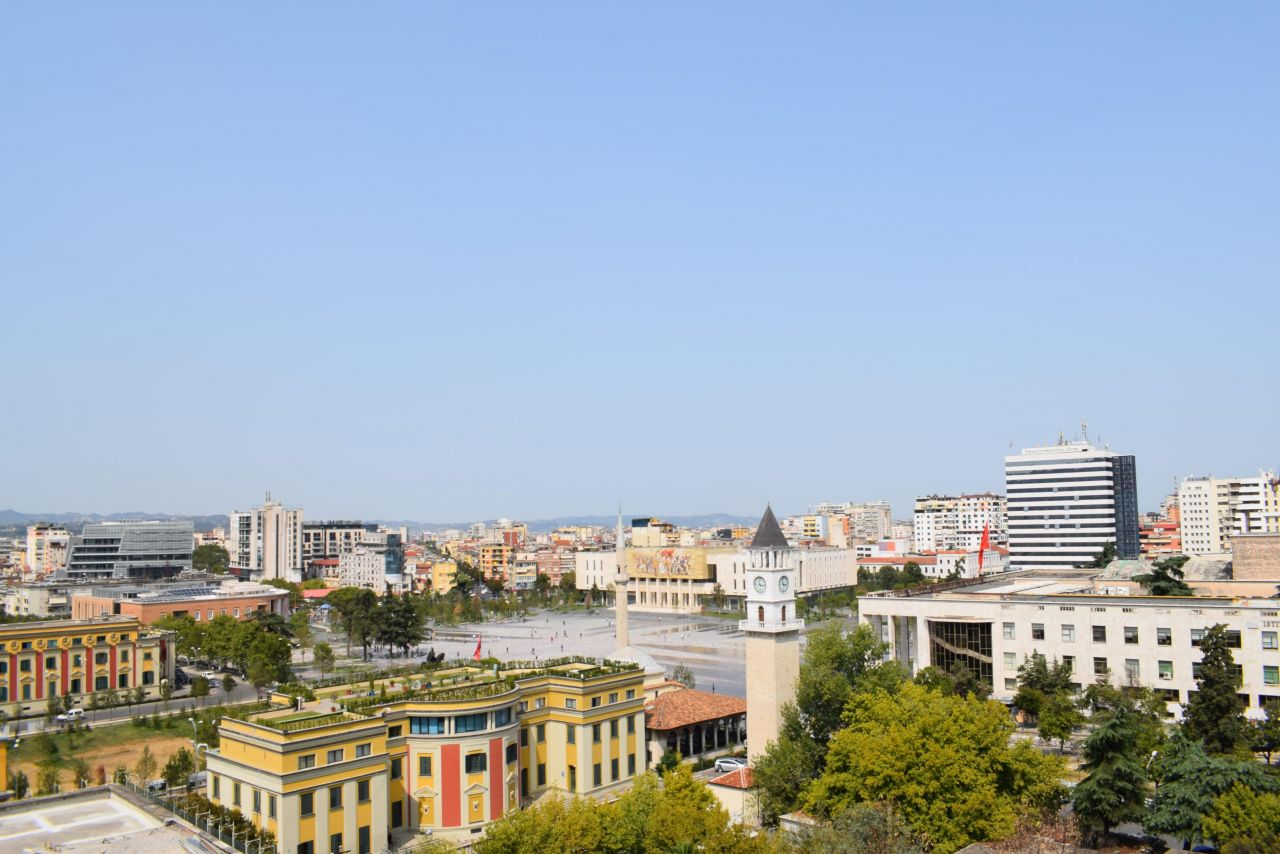 Wonderful Two Bedrooms Apartment in Tirana for Rent. Just next to Scanderbeg square