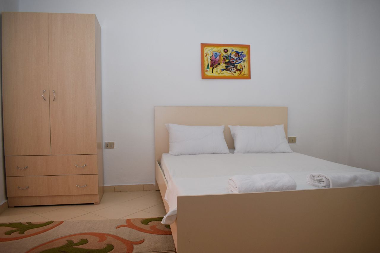 A two bedroom apartment for rent in  Tirana, in the heart of Blloku area
