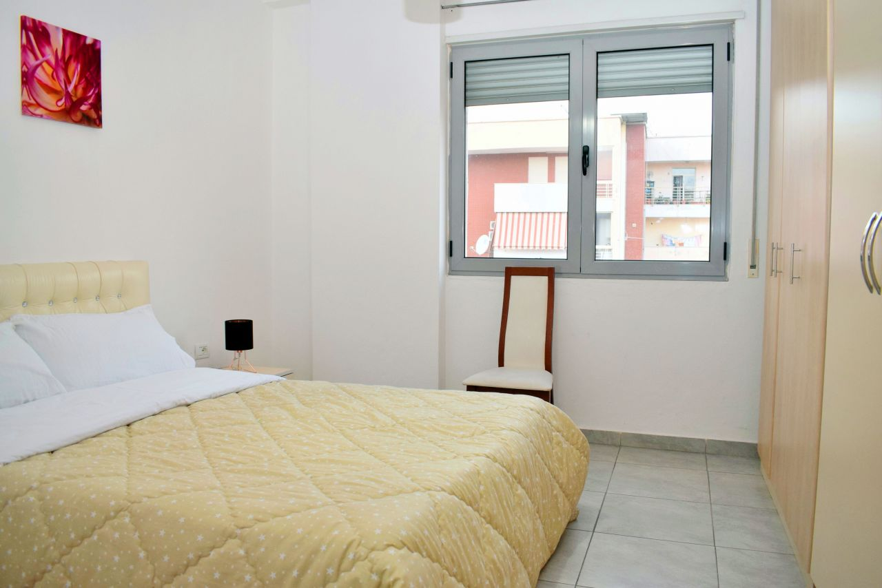 Wonderful Two Bedroom Apartment for Rent in Tirana and fully furnished