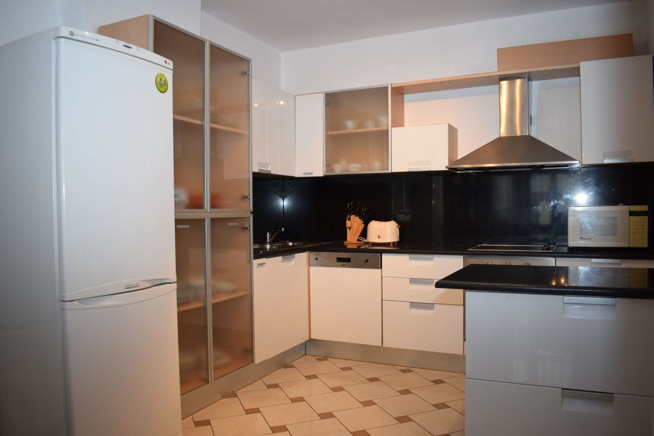 Three bedroom apartment for Rent in Tirana and full furnished