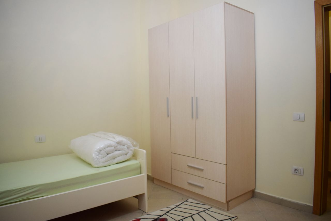 Three bedroom Apartment with two bathrooms for Rent in Tirana