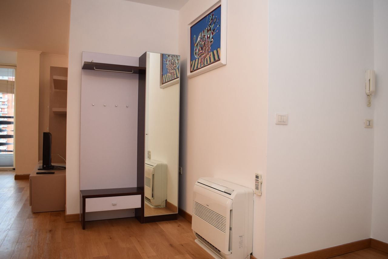 Apartment for rent with 2 bedrooms and 2 bathrooms,in Tirana