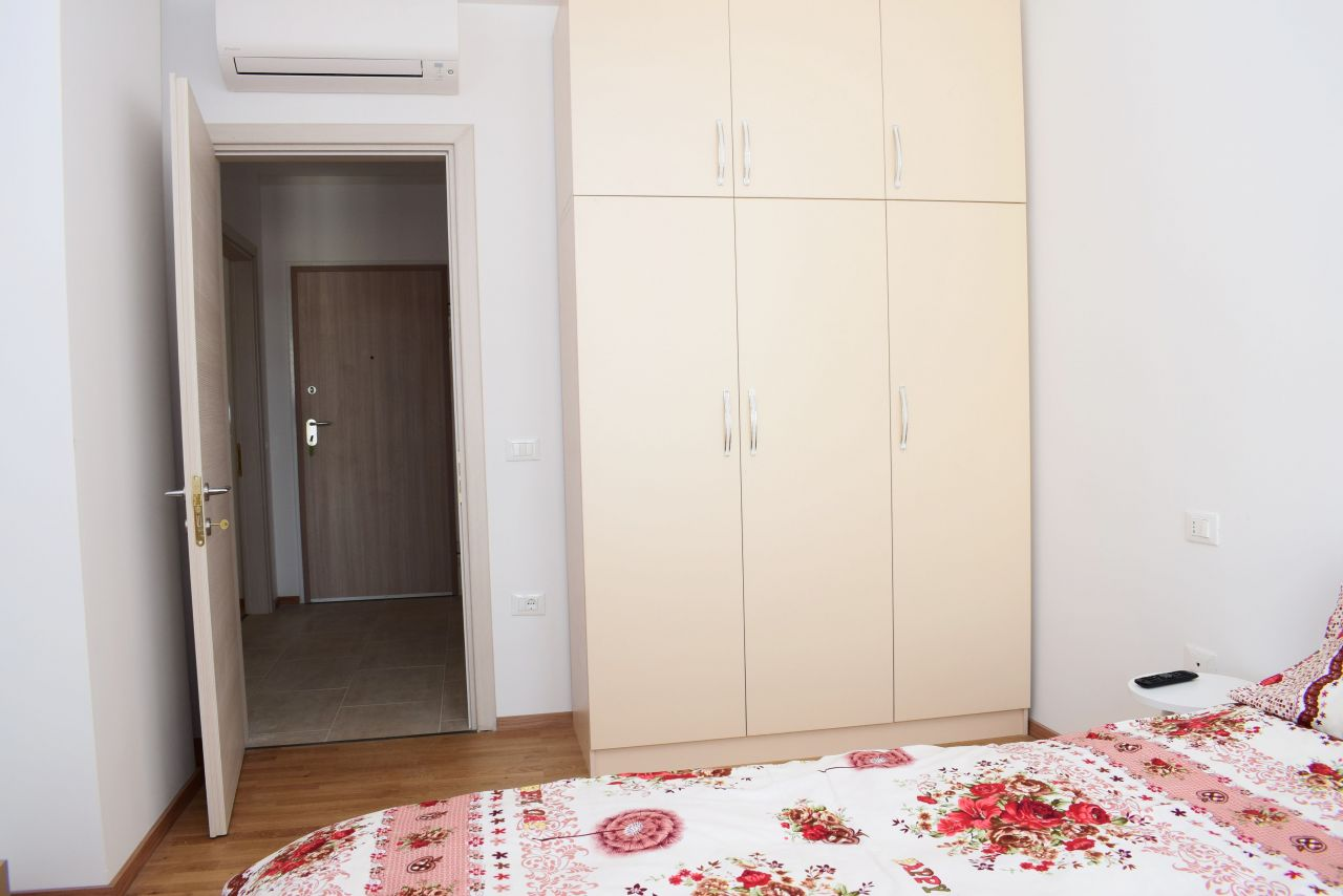 Two Bedroom Apartment in Tirana for Rent in KIKA 2 Residence
