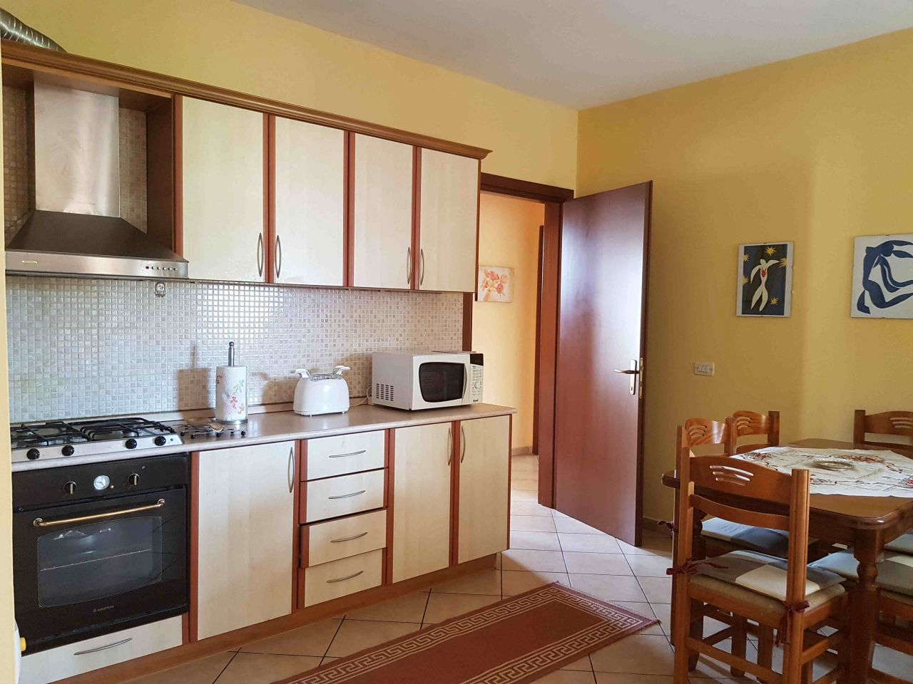 Apartment for Rent  with Three bedrooms and Two Bathrooms, in Tirana
