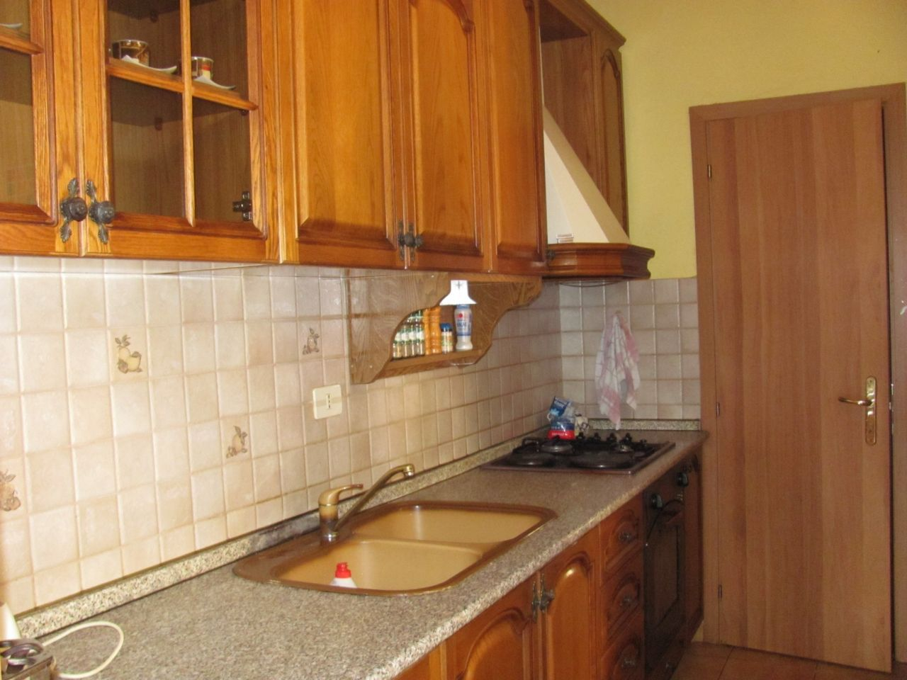 2 bedroom apartment for sale in a very good area in tirana, albania. the kitchen has all necessary equipment