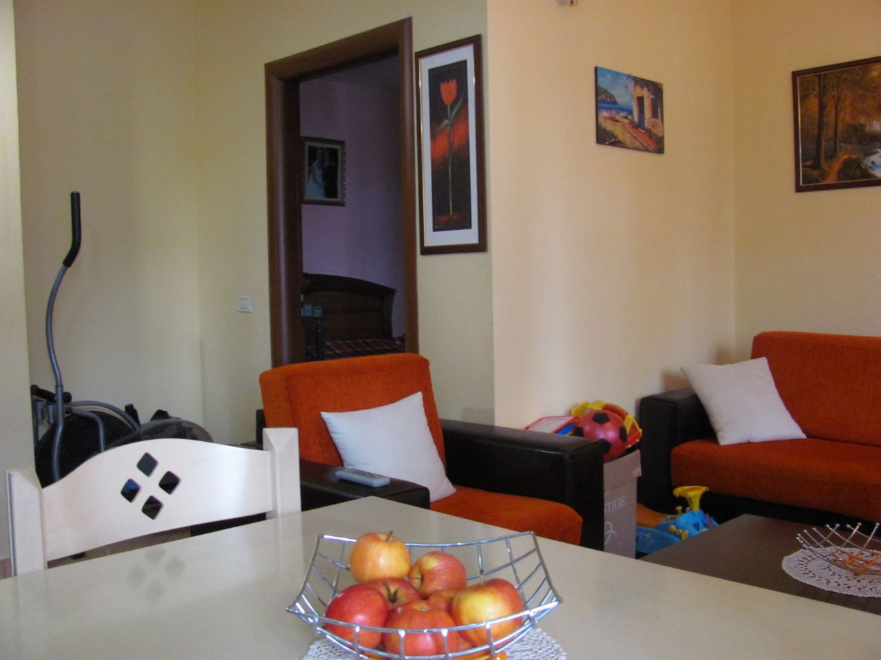 one bedroom apartment with a surface of 62 m2 for sale in Tirana Albania