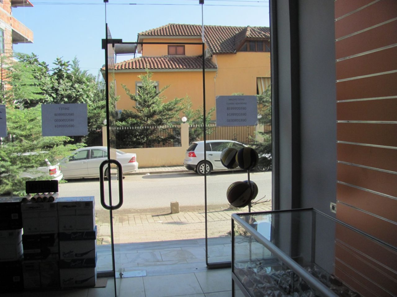 Shop for sale in Tirana Albania situated in a new residential block