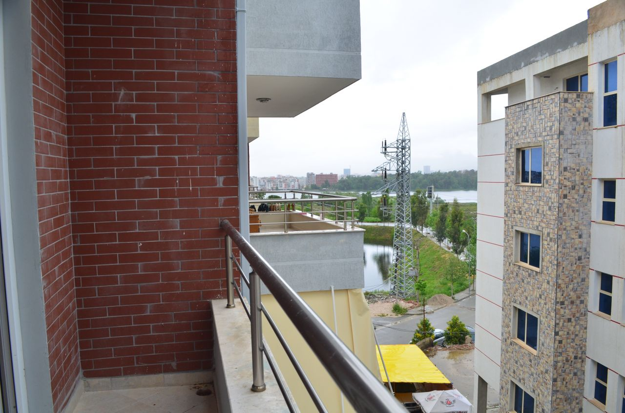Apartment for sale in Tirana, Albania, close to the artificial lake. Albania Realty offered by Albania Property Group.