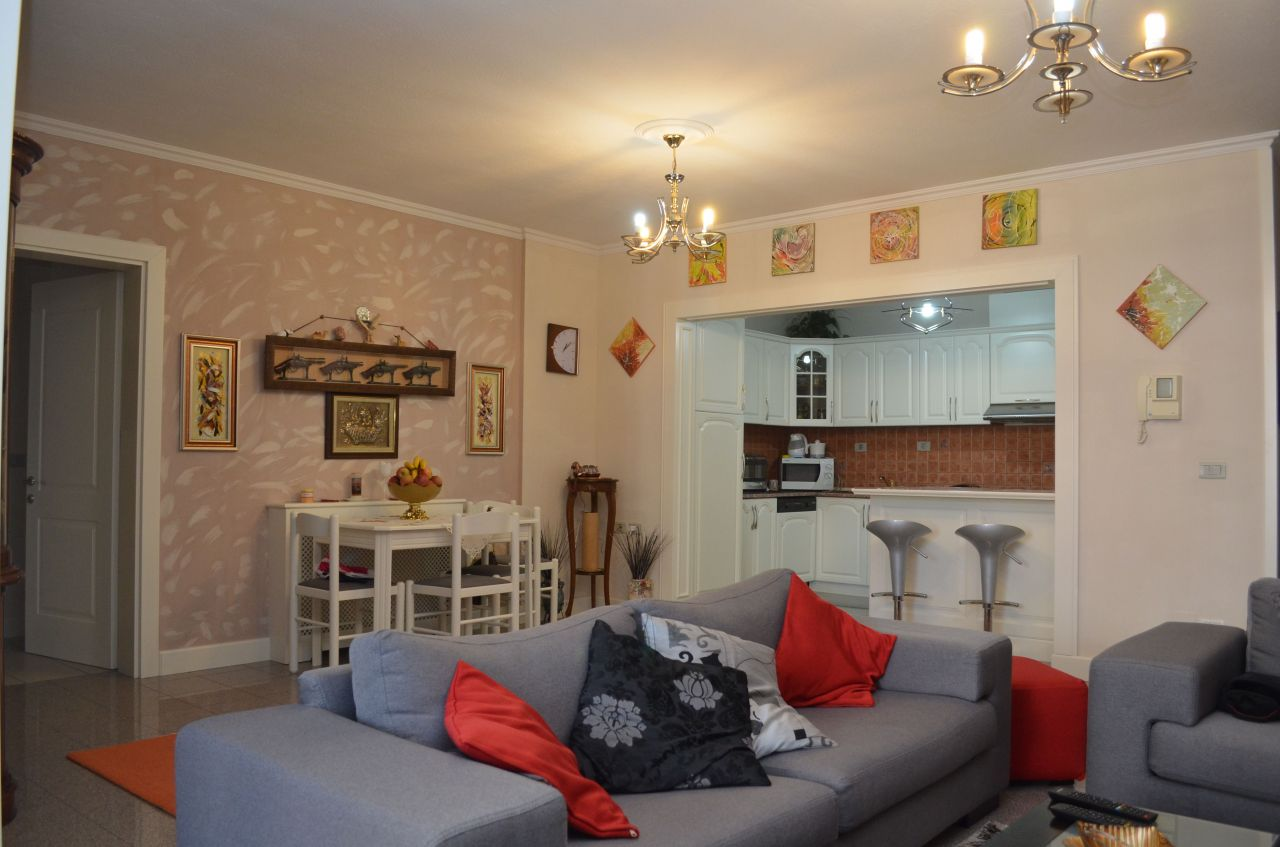 apartment for sale in tirane with two bedrooms and two bathrooms