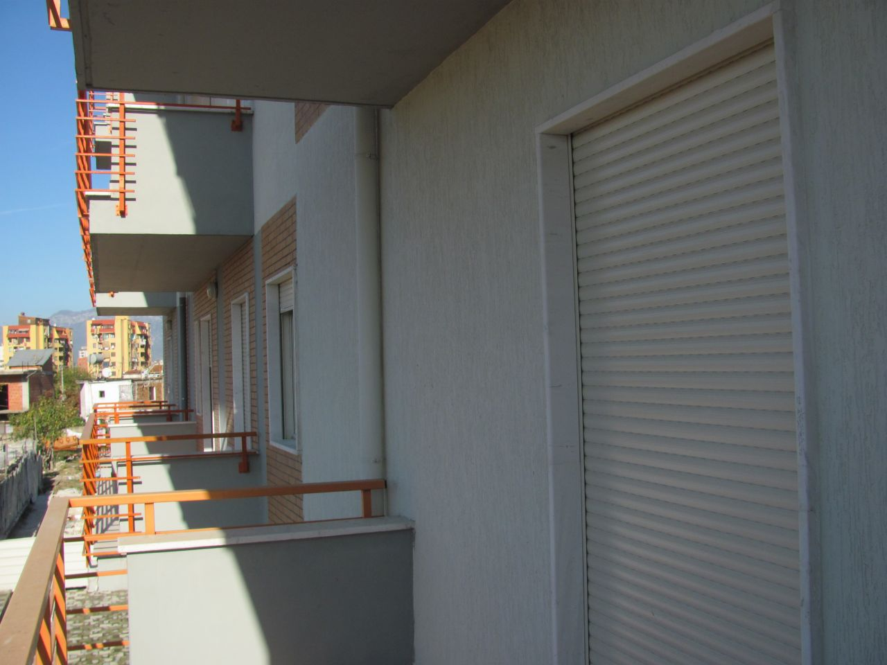 Apartment for Sale in a new neighborhood in Tirana, Albania. The building is of a good quality.