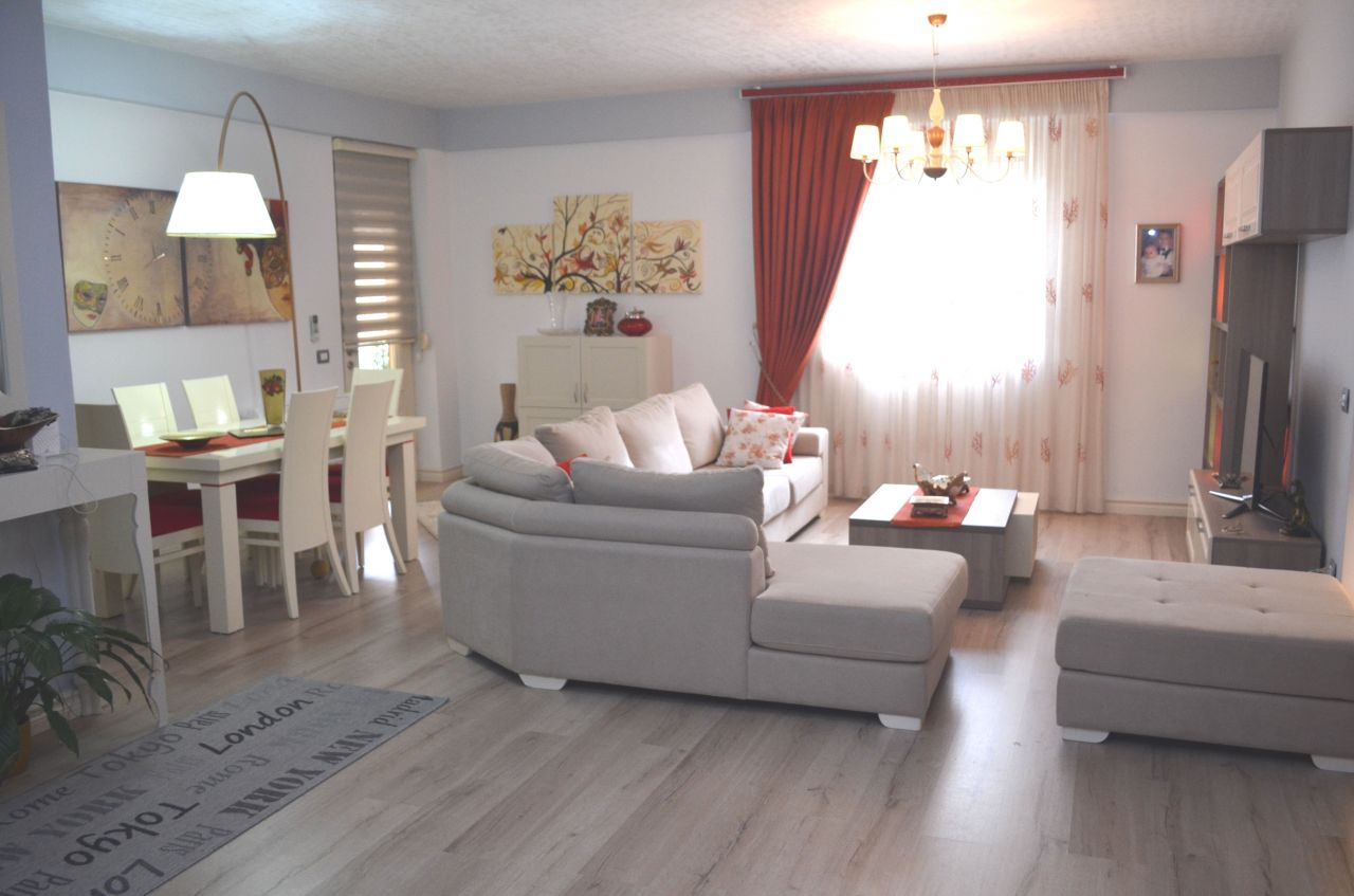 Spacious Apartment for Sale in Tirana