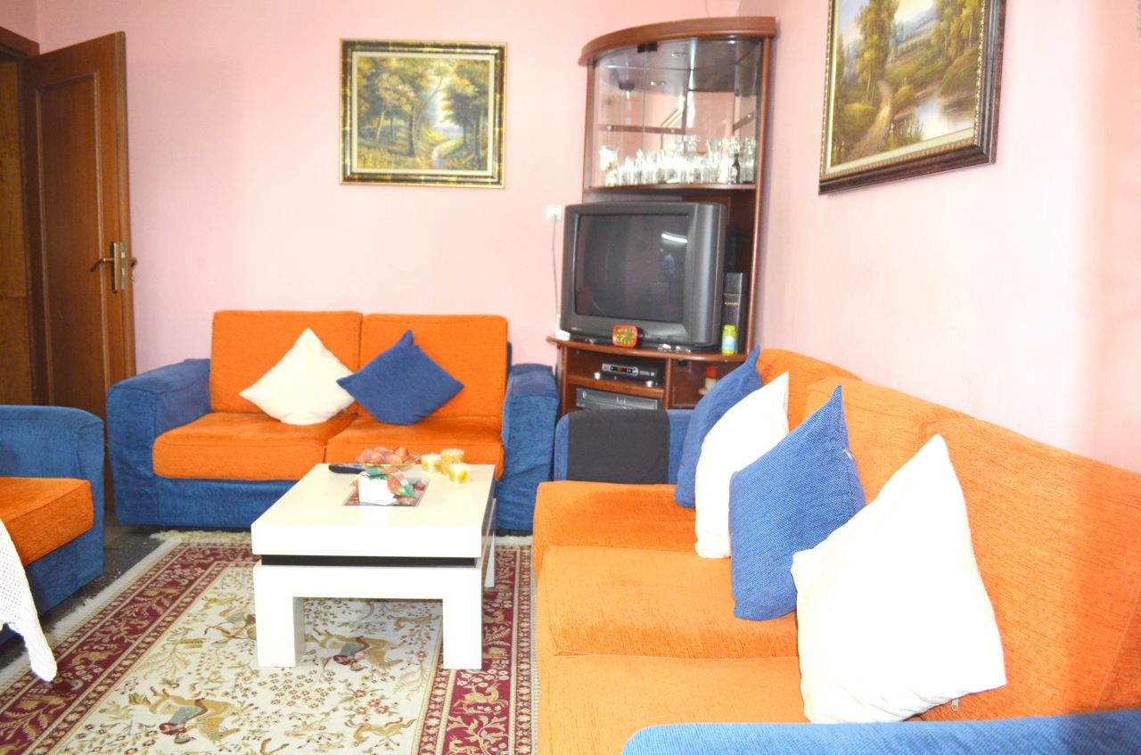 Apartment for sale in Kongresi i Manastirit Street, in Tirana, the capital of Albania