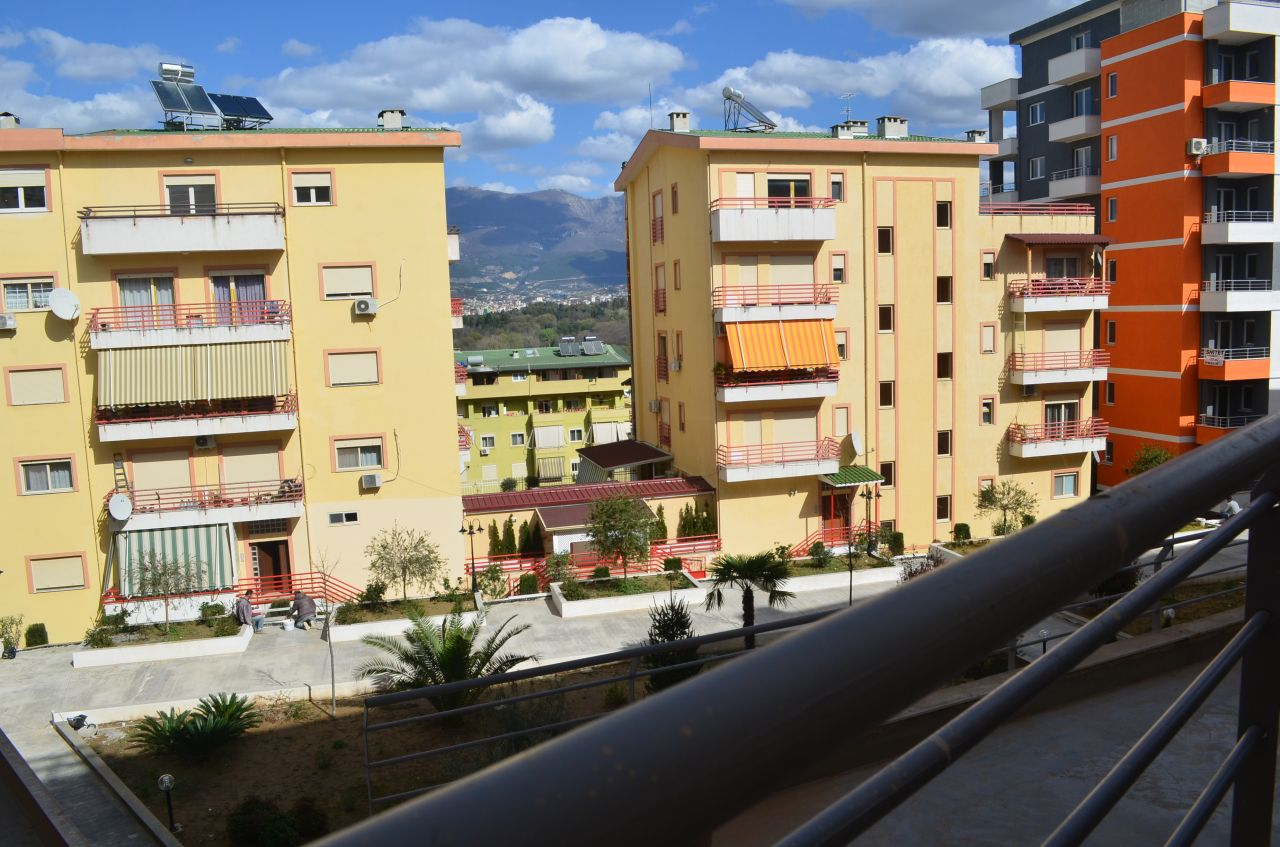 Apartment for Sale in Tirana located in a quiet and clean area