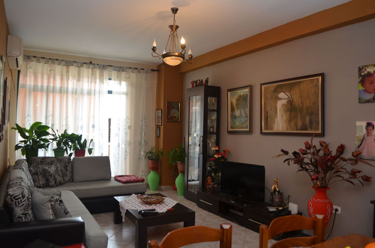 Two bedrooms apartment for sale in Tirana.