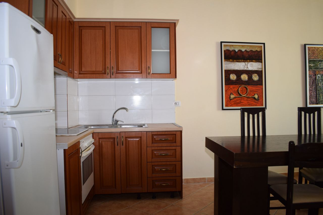 Two bedroom apartment for sale in Tirana at Fresku area near Dajti mountain
