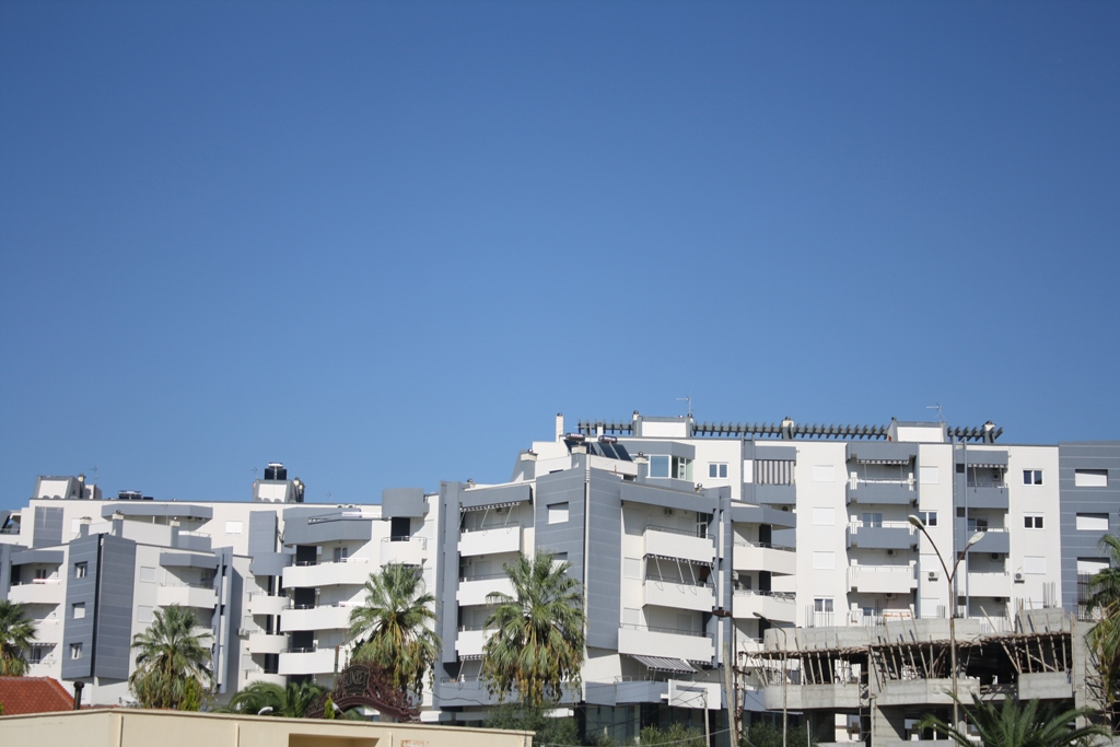 Front line apartments for Sale in the city of Vlora in Albania