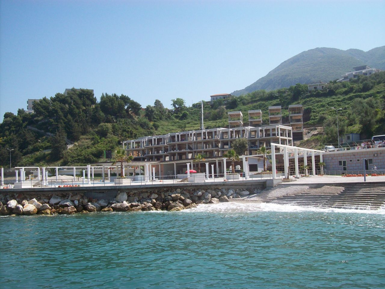 Albania Property in Vlora. Waterfront Apartments in Albania