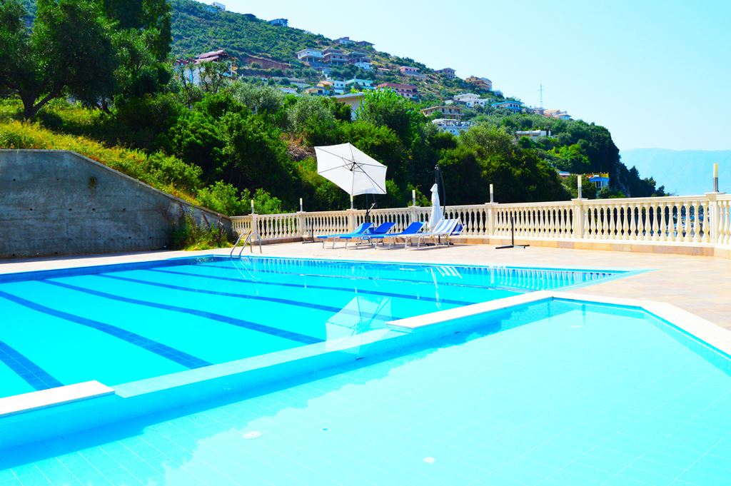 Sea View Holiday Apartment for Rent in Vlora with Pool