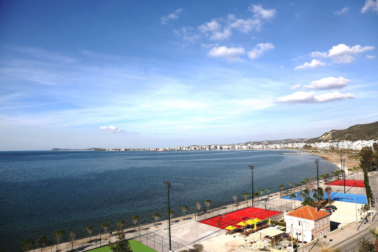 Albania Holiday Apartment  for Rent in Vlora with Pool Sea View Albanian Riviera