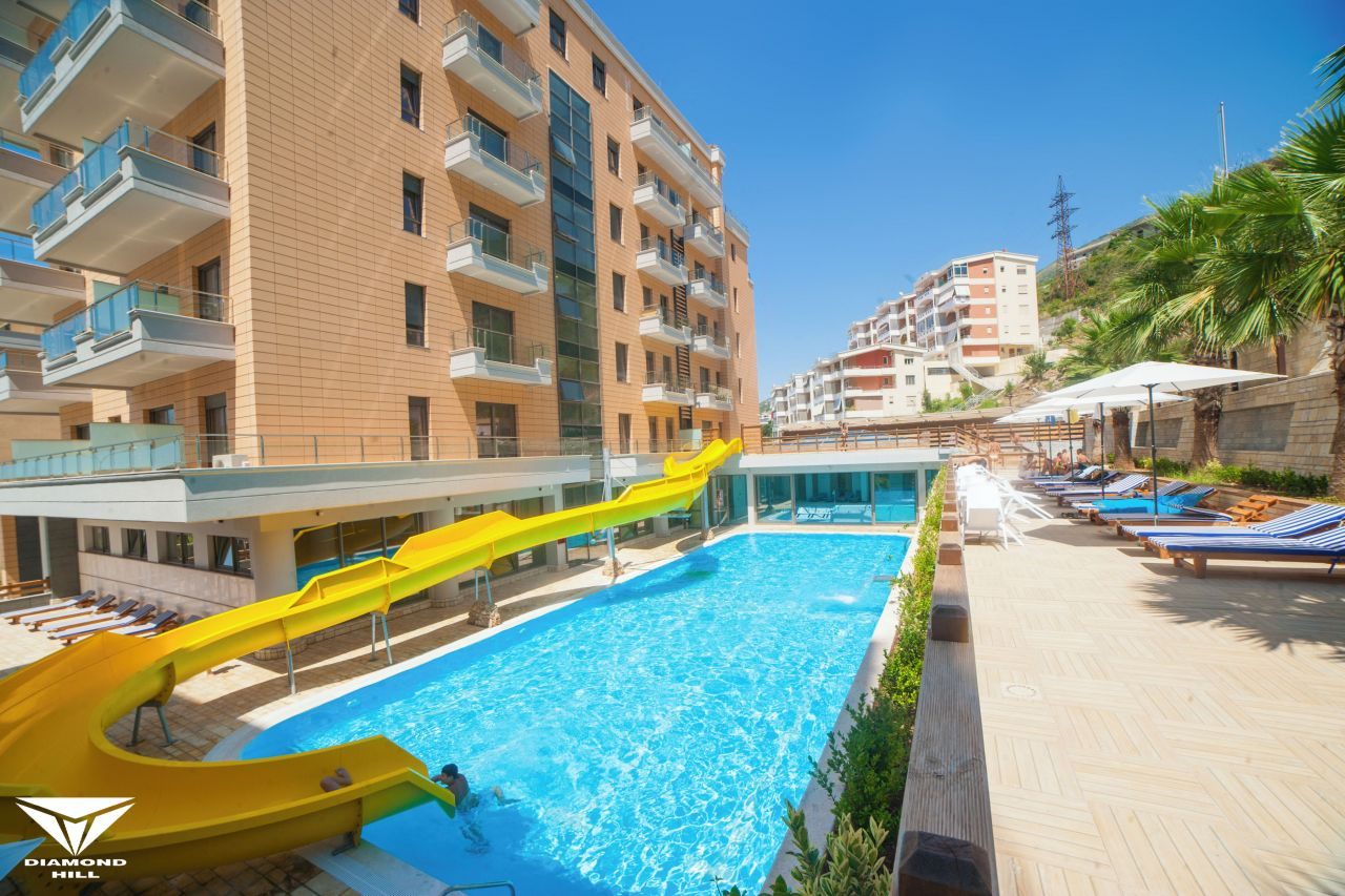 Holiday Vacation Apartment with Pool in Vlora City
