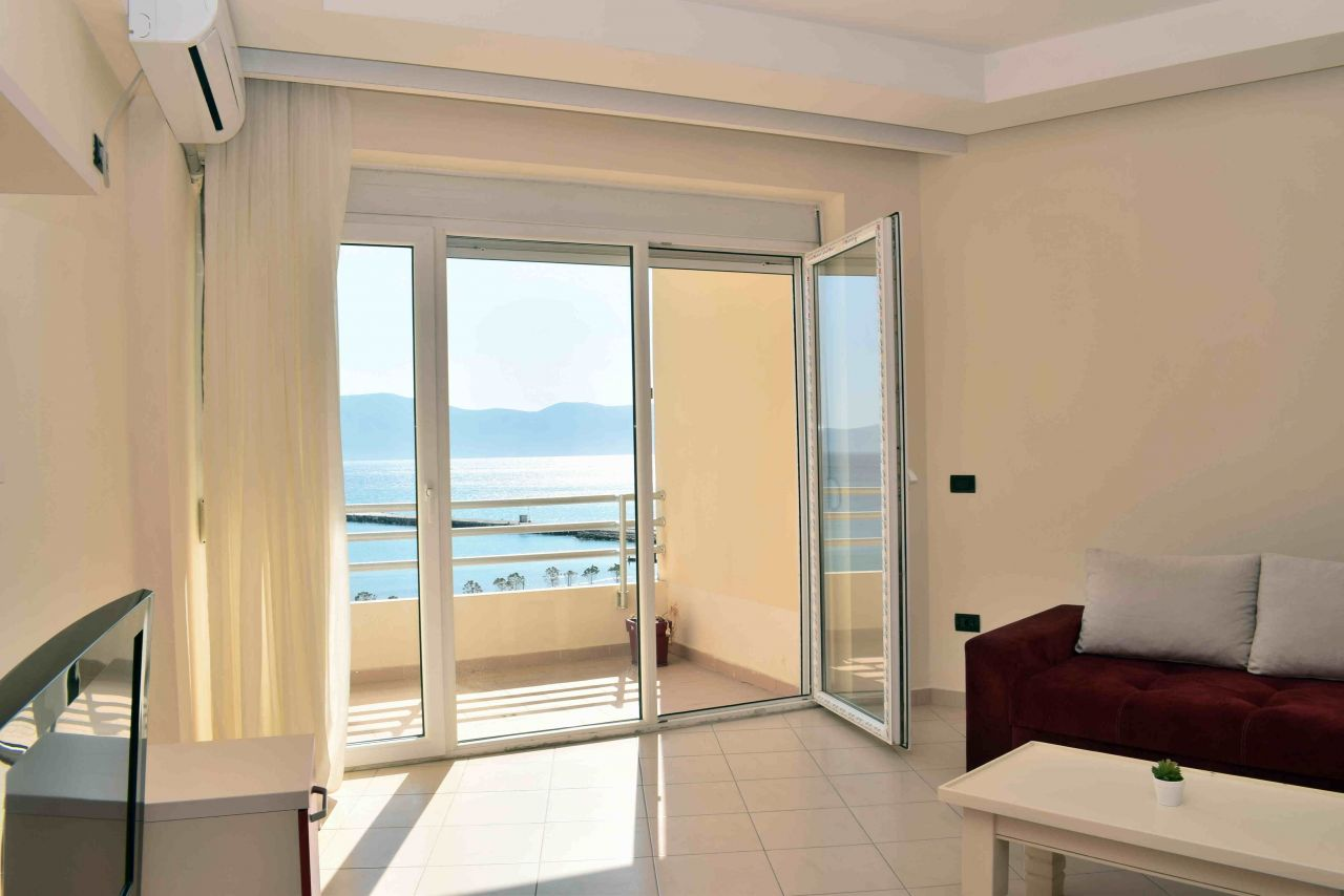 Sea View Apartment In Vlore For Rent