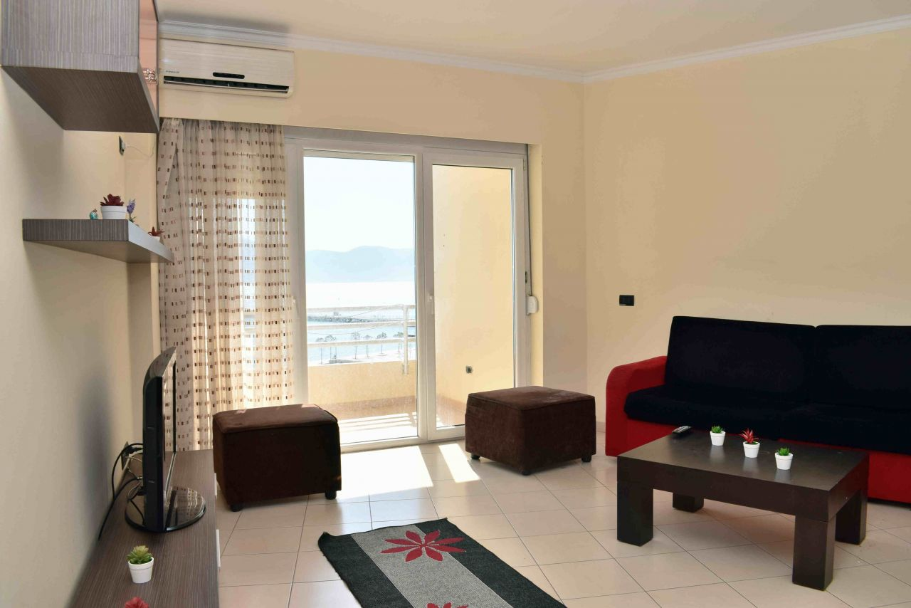 Two Bedroom Apartment for Rent In Vlora with two Bathrooms