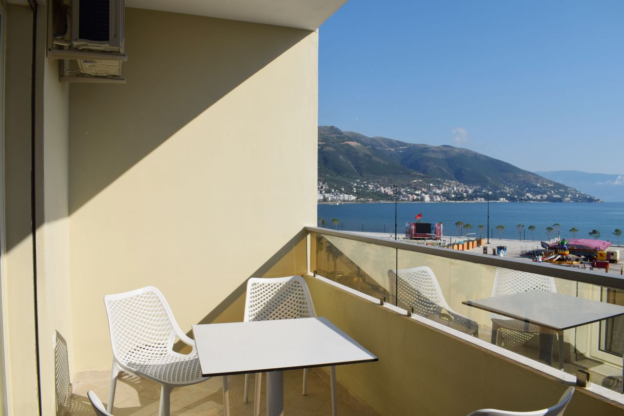 2 Bedroom Apartment  Sea View for Rent in Vlora
