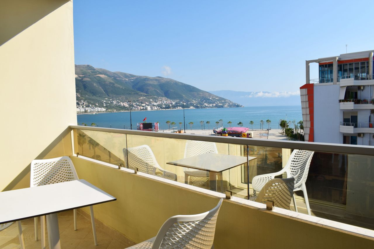Two Bedroom Apartment  with Sea View for Rent in Vlora