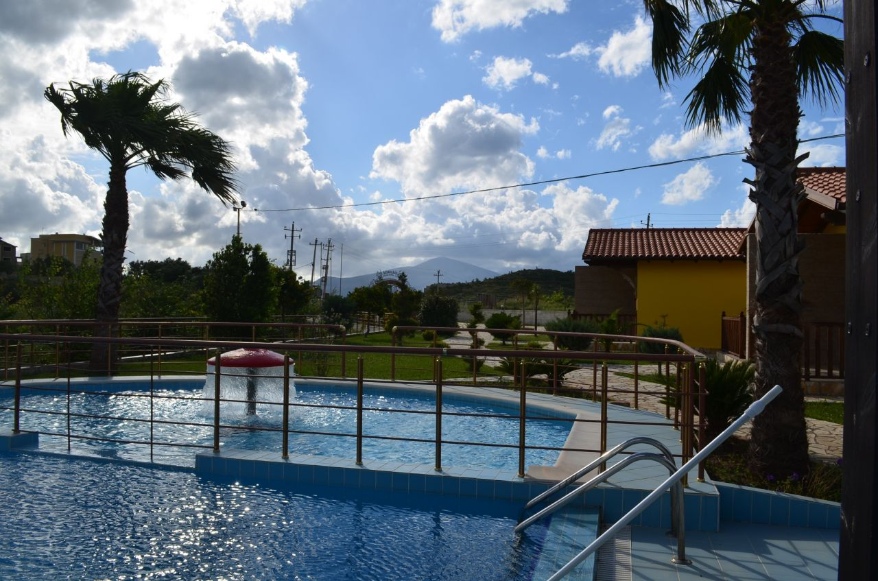 Holiday house with swimming pool in Vlora, Albania