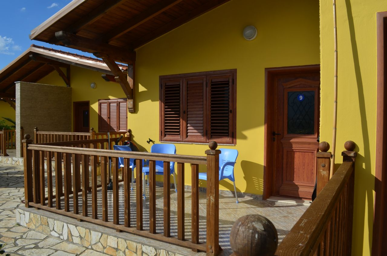 Holiday villa with swiming pool near Radhima Beach in Vlora